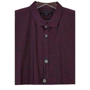 NWT John varvatos star USA vintage floral shirt